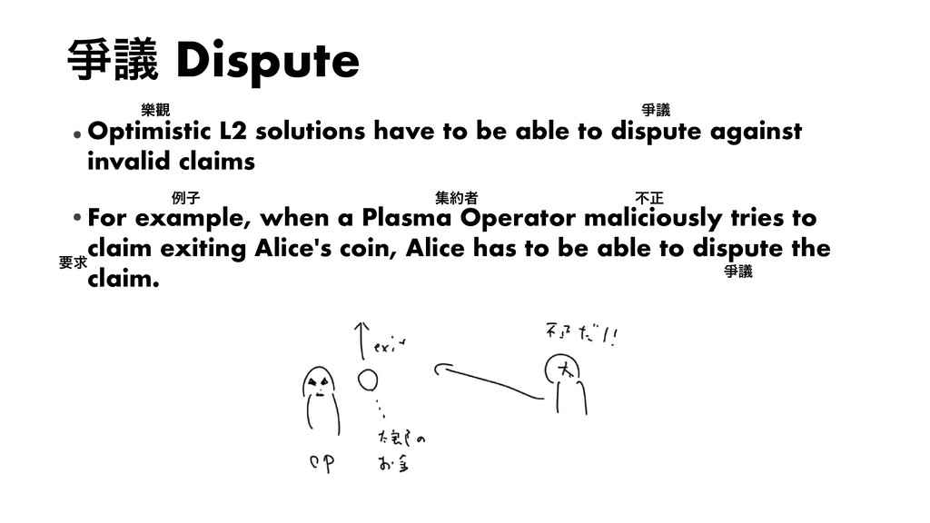 ᗠٞ Dispute Optimistic L2 solutions have to be a...