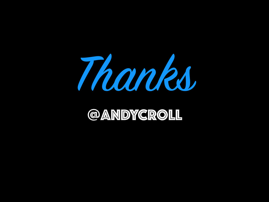 Thanks @ANDYCROLL