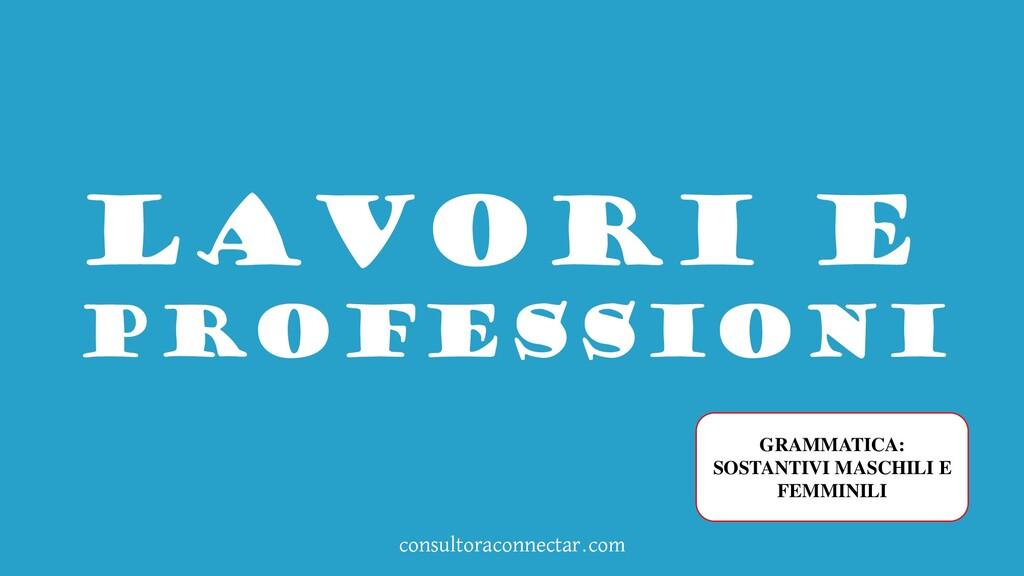 consultoraconnectar.com Lavori e professioni GR...
