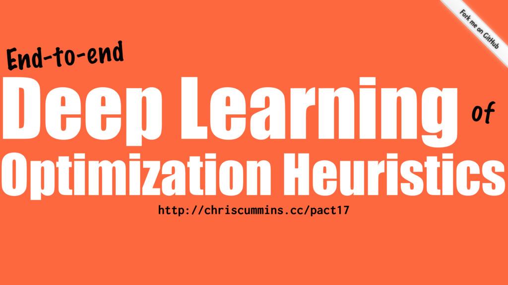 Optimization Heuristics Deep Learning http://ch...