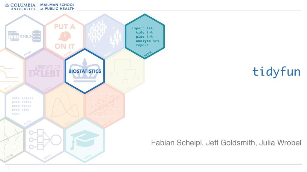 1 tidyfun Fabian Scheipl and Jeff Goldsmith