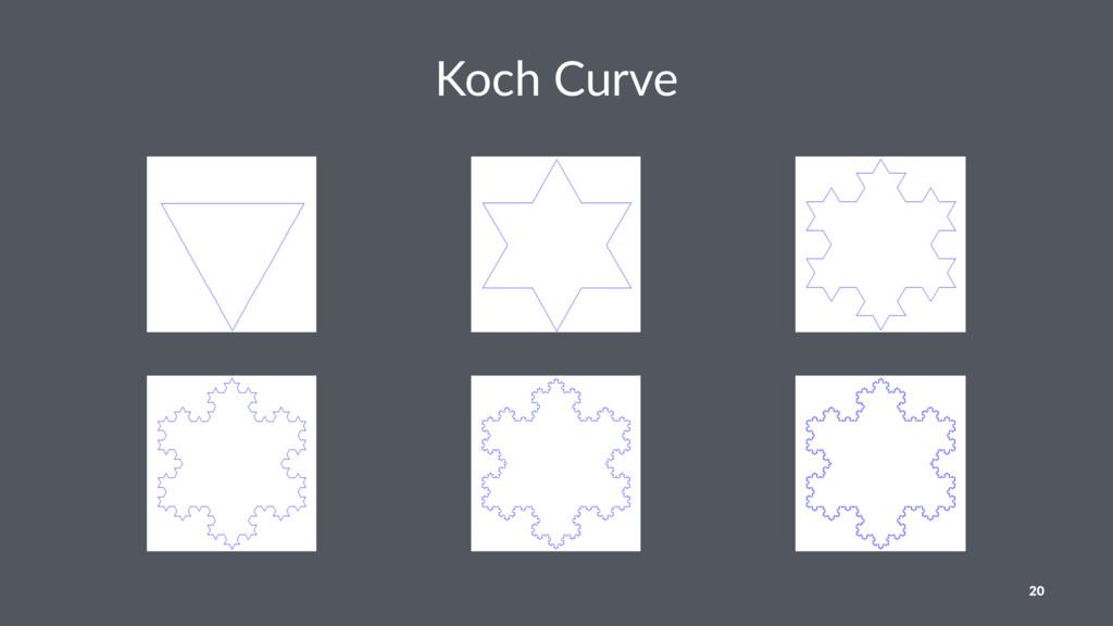 Koch Curve 20