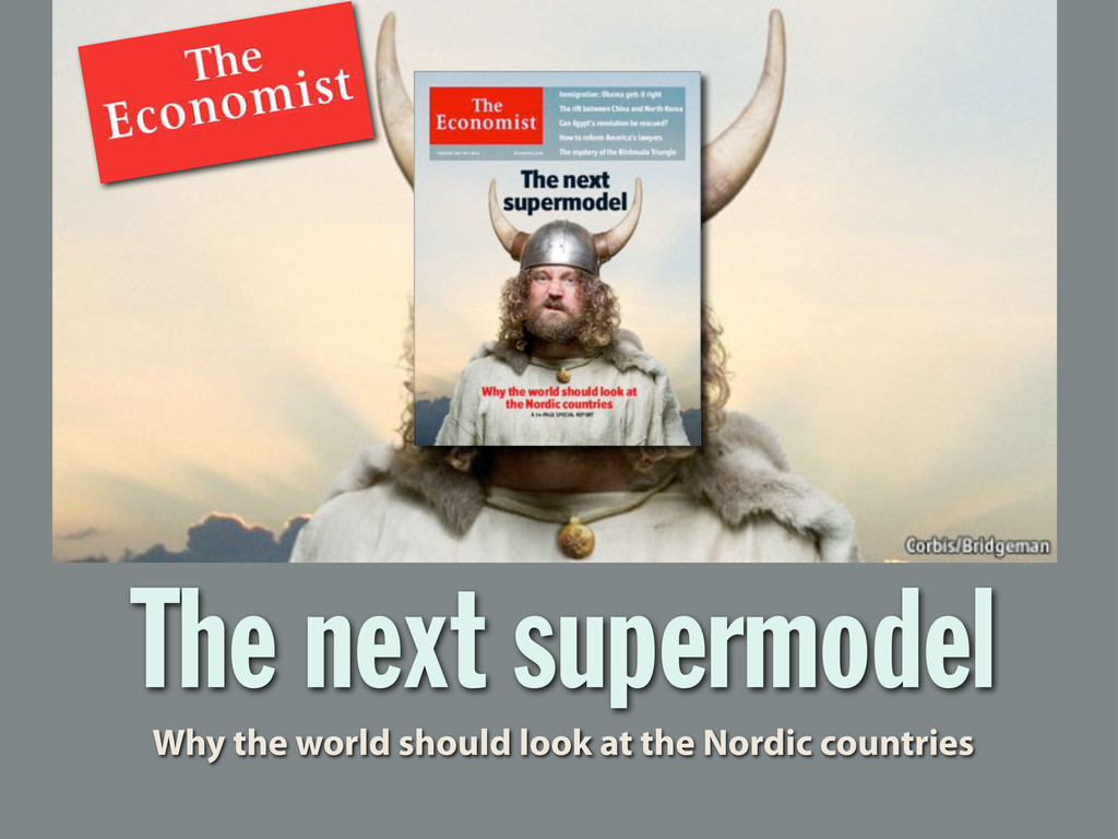 The next supermodel Why the world should look a...