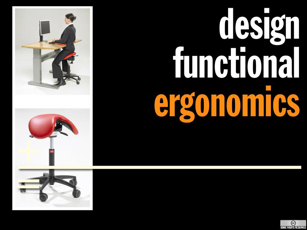 design functional ergonomics