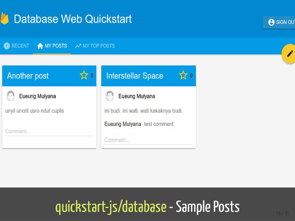 quickstart-js/database - Sample Posts 19 / 37