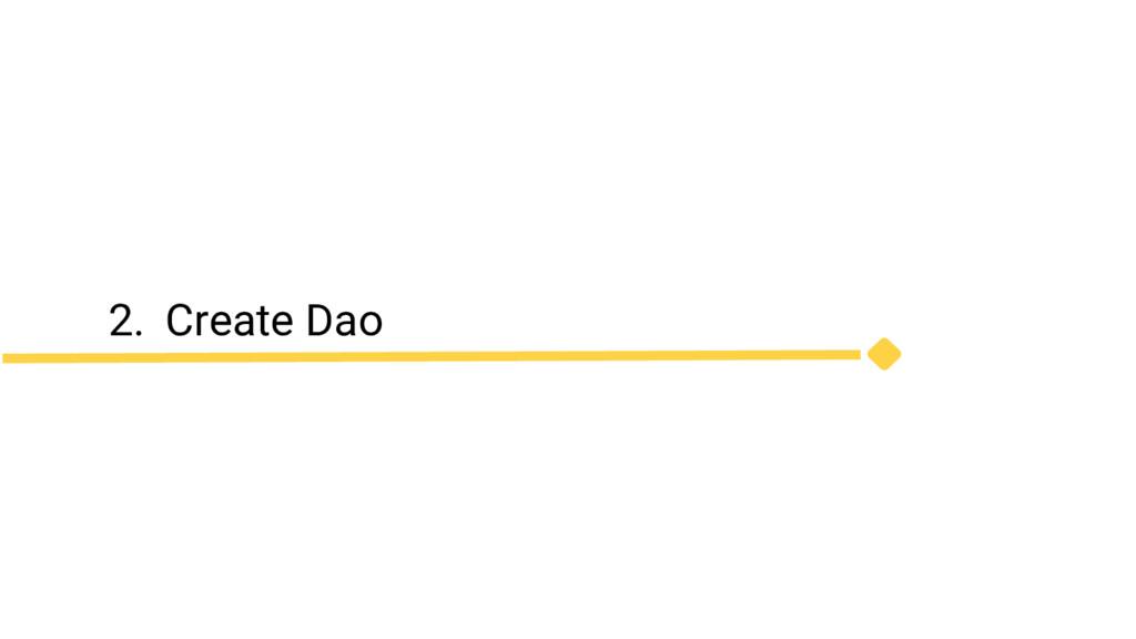 2. Create Dao