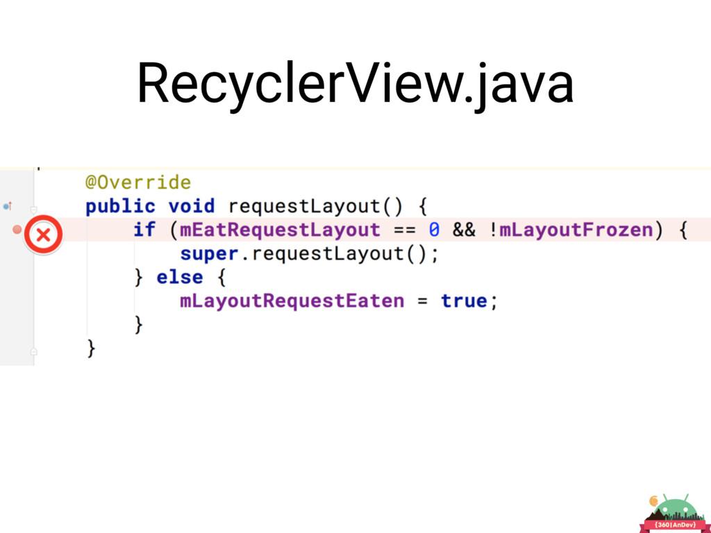 RecyclerView.java