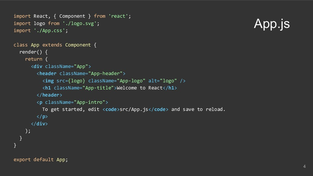 import React, { Component } from 'react'; impor...