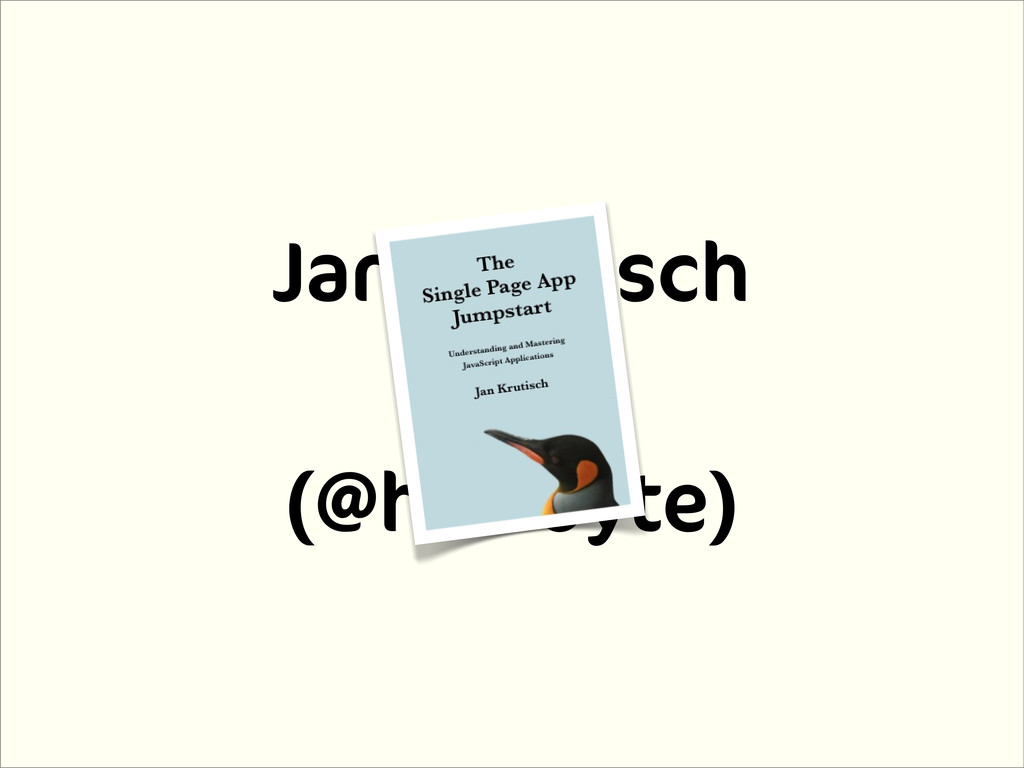 Jan Krutisch (@halfbyte)