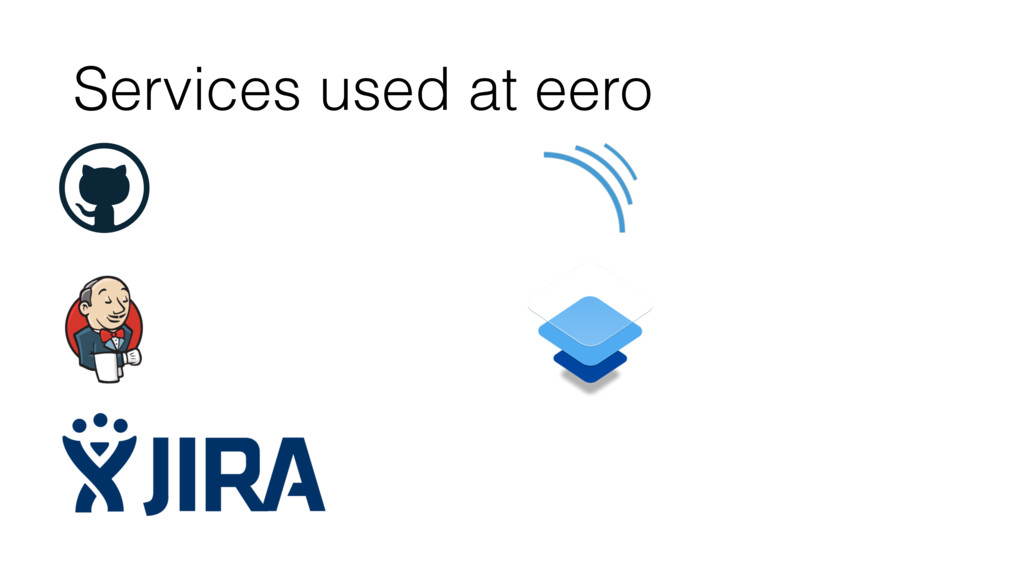 Services used at eero