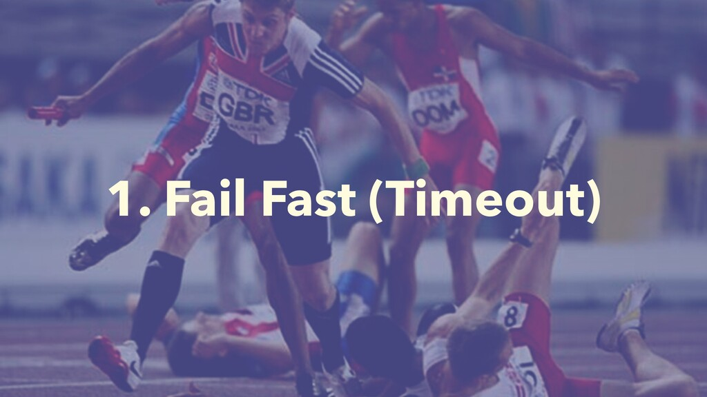 1. Fail Fast (Timeout)