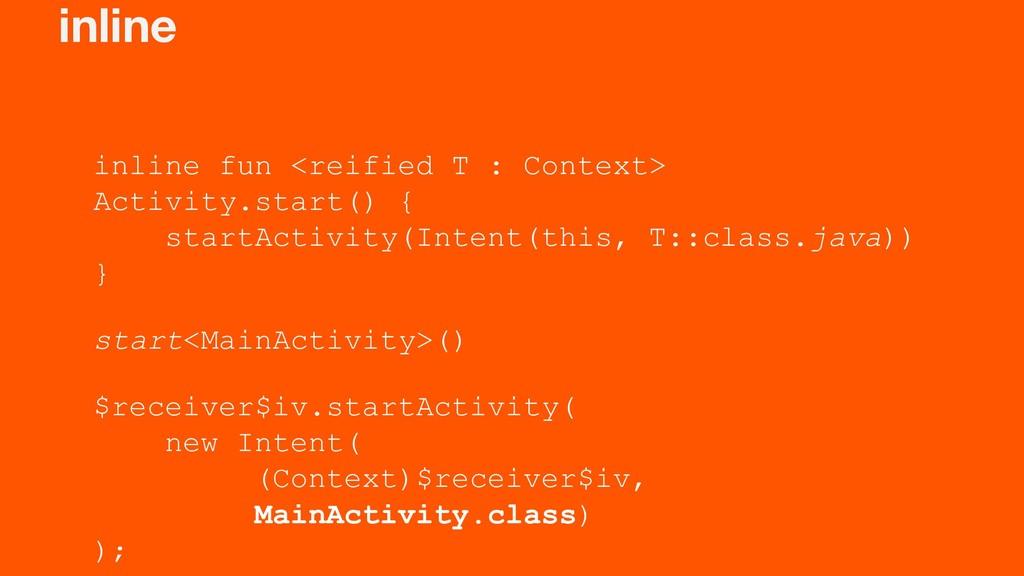 inline inline fun <reified T : Context> Activit...