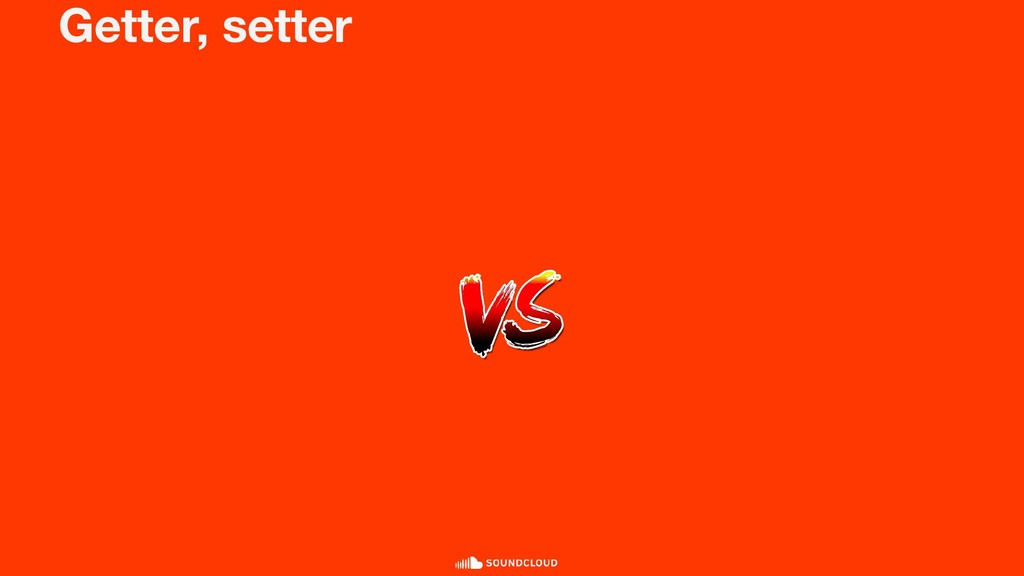 Getter, setter