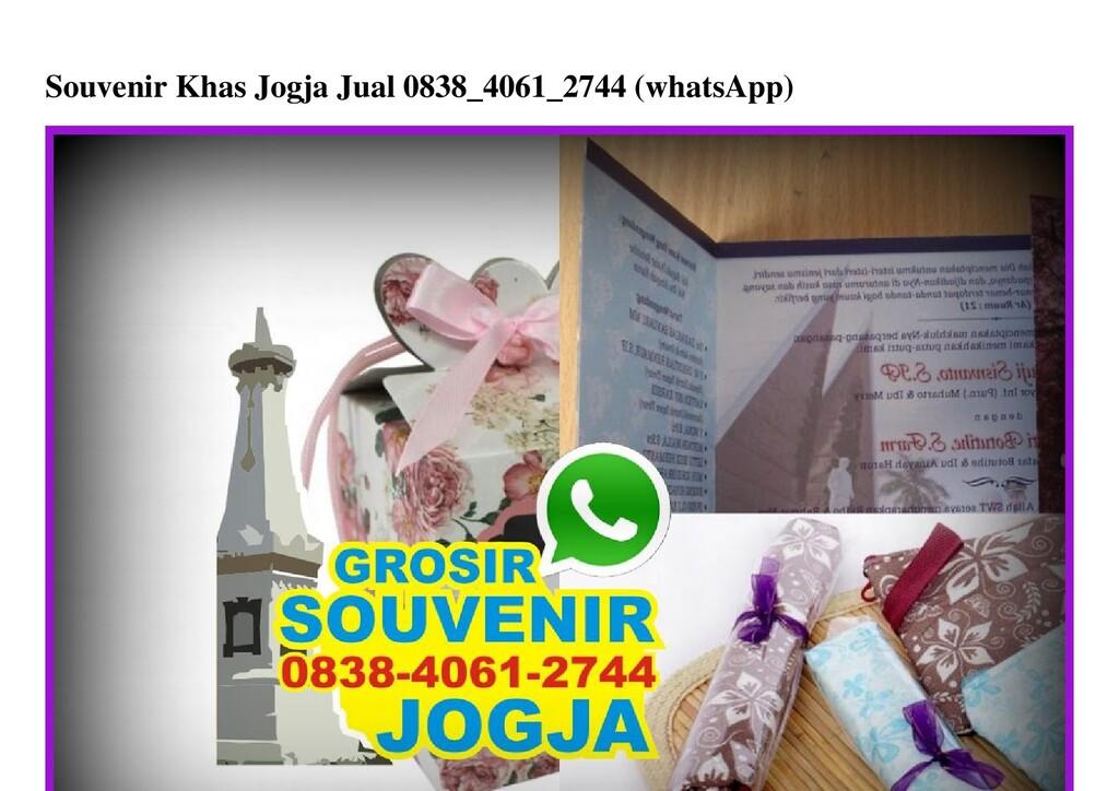 Souvenir Khas Jogja Jual 0838_4061_2744 (whatsA...