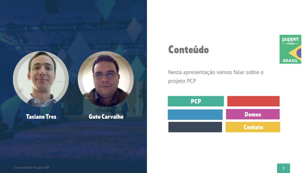 3 Flato Presentation PCP Demos Contato Conteúdo...