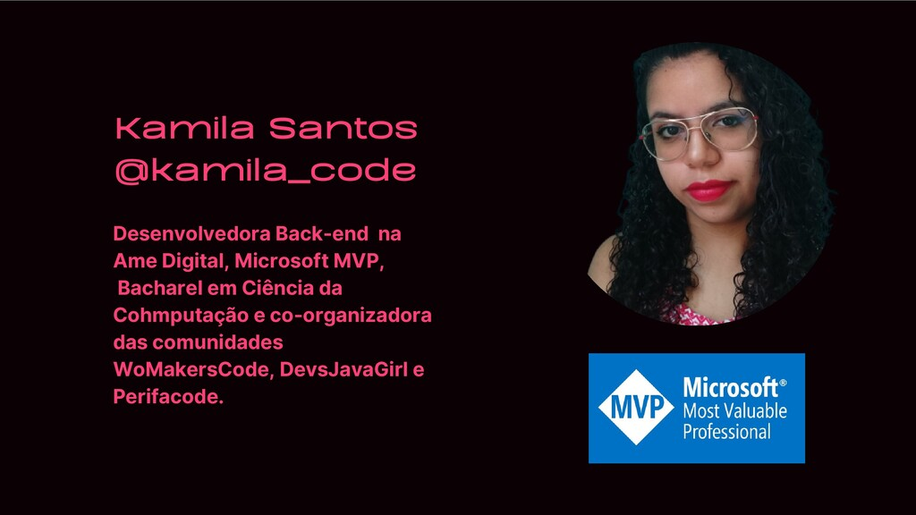 Desenvolvedora Back-end na Ame Digital, Microso...