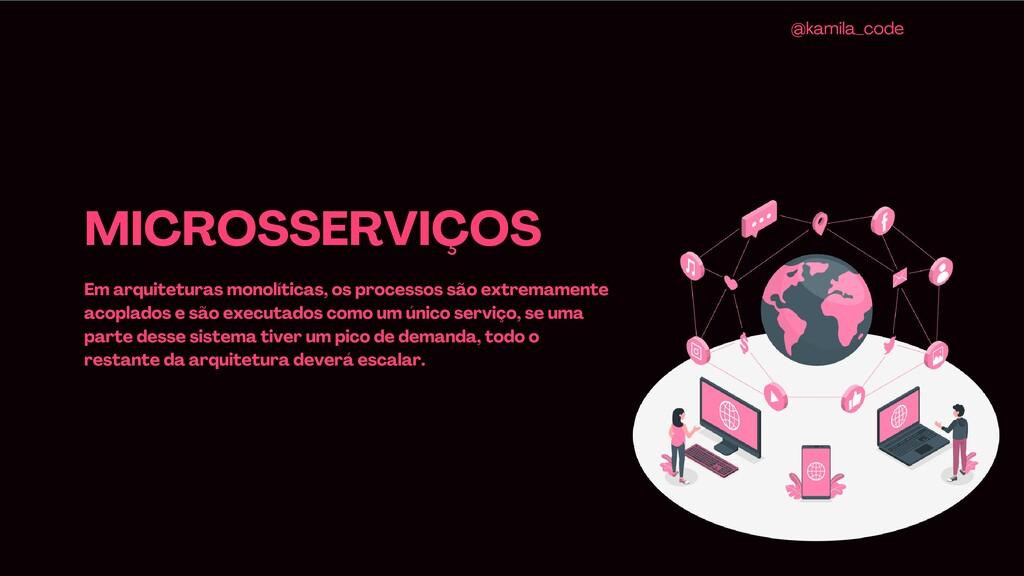 MICROSSERVIÇOS Em arquiteturas monolíticas, os ...