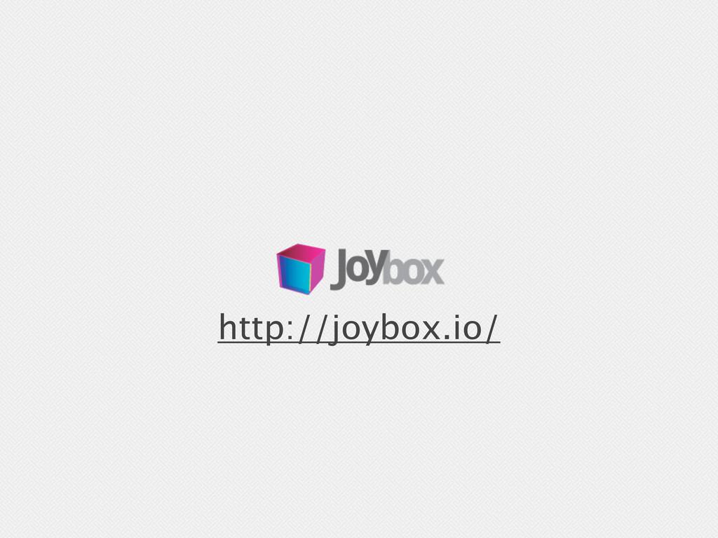 http://joybox.io/