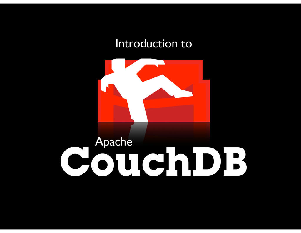 CouchDB Apache Introduction to