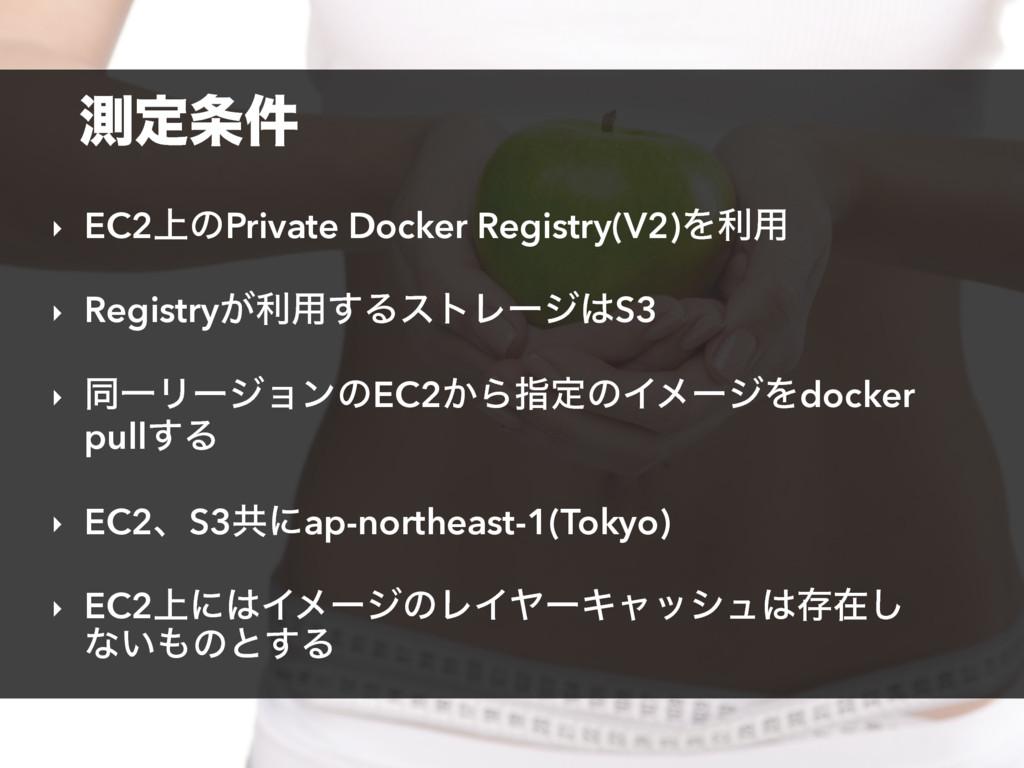 ଌఆ݅ ‣ EC2্ͷPrivate Docker Registry(V2)Λར༻ ‣ Re...