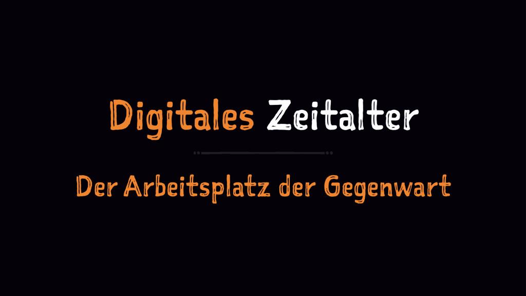 Digitales Zeitalter Der Arbeitsplatz der Gegenw...