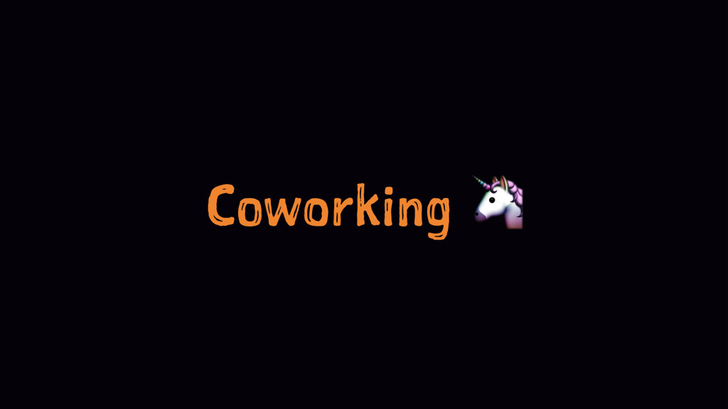 Coworking !
