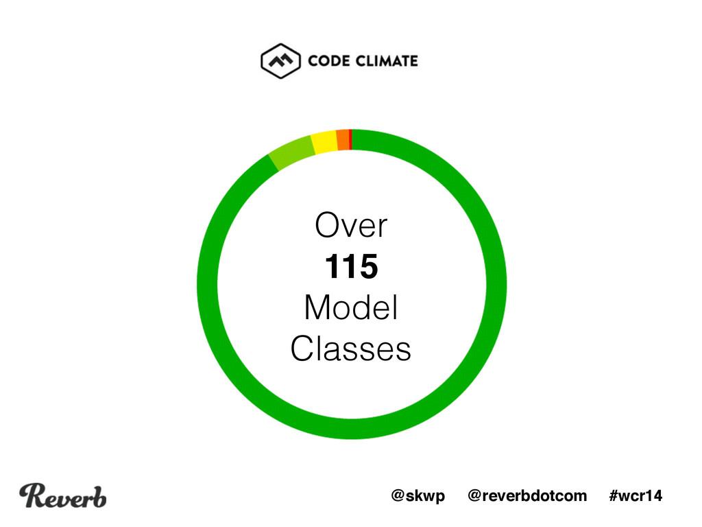 @skwp @reverbdotcom #wcr14 Over 115 Model Clas...