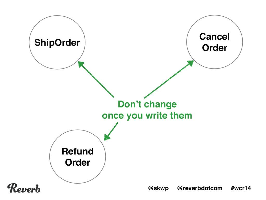 @skwp @reverbdotcom #wcr14 ShipOrder Cancel Or...