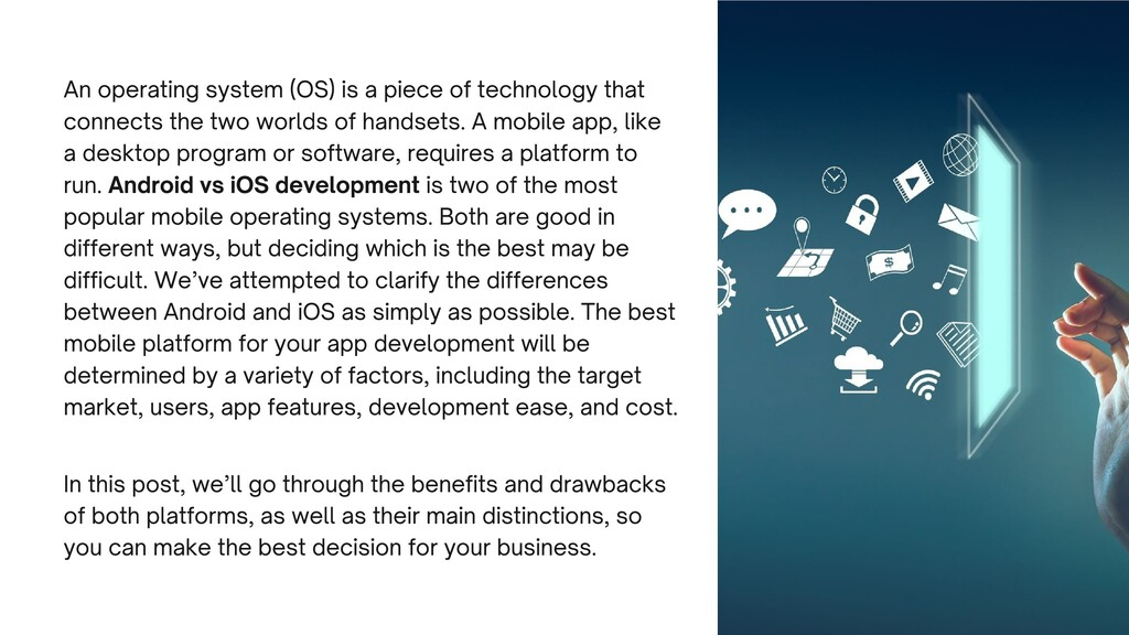 An operating system (OS) is a piece of technolo...
