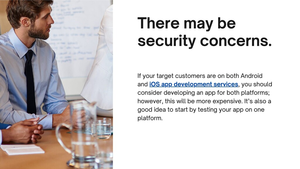 There may be security concerns. If your target ...