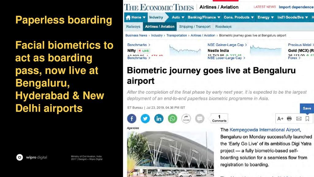 wipro digital Ministry of Civil Aviation, India...