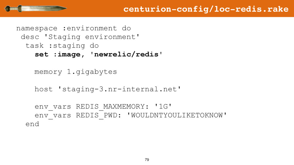 79 namespace :environment do desc 'Staging envi...