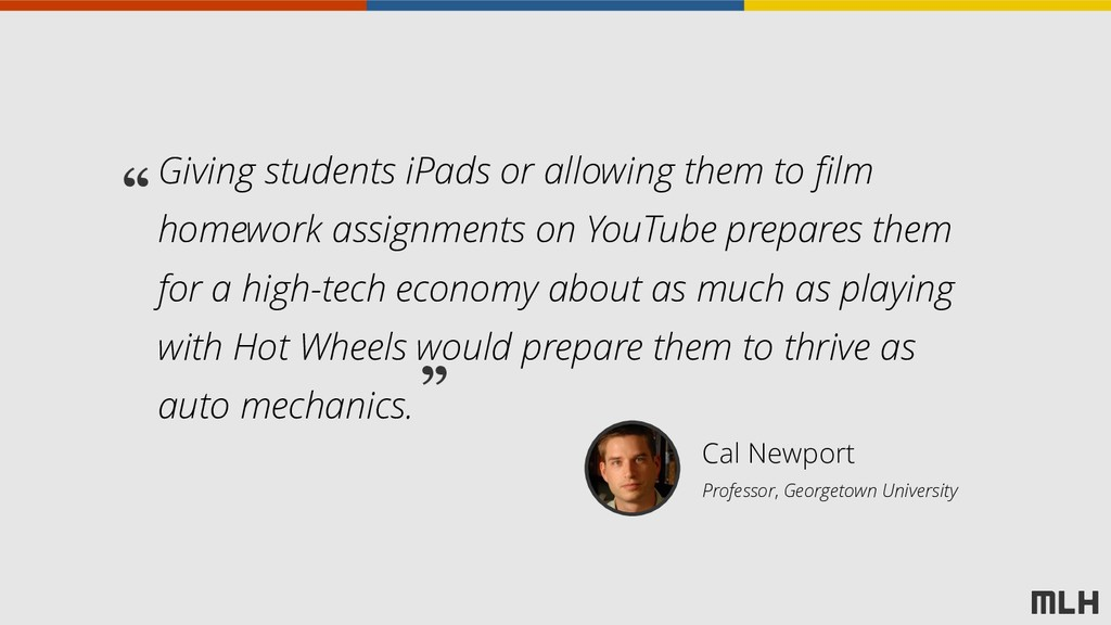 Giving students iPads or allowing them to film ...