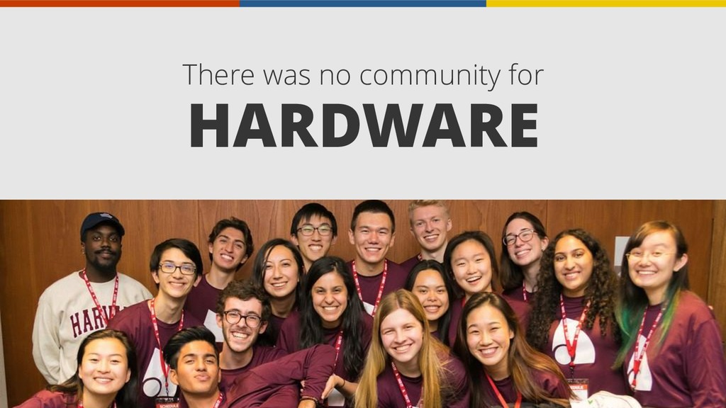There was no community for HARDWARE