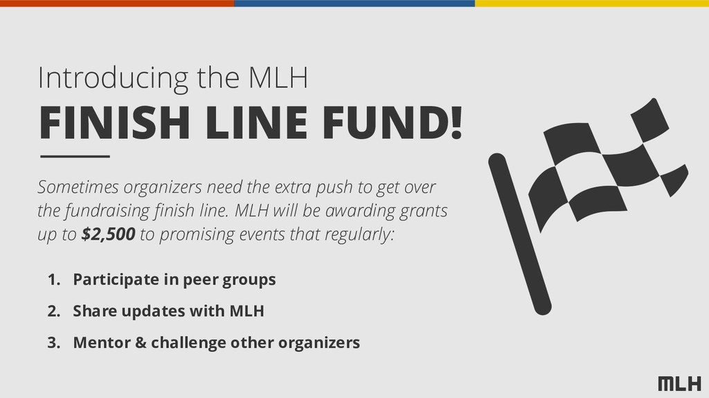FINISH LINE FUND! Introducing the MLH Sometimes...