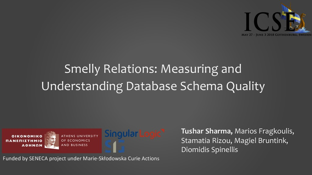 Smelly Relations: Measuring and Understanding D...