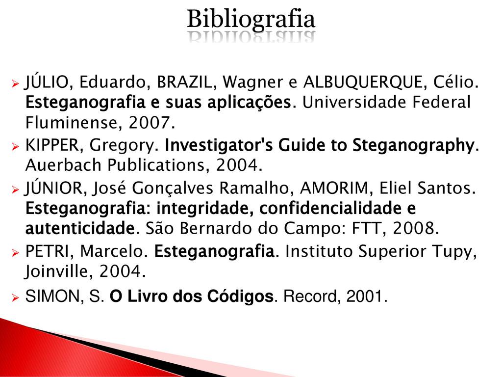  JÚLIO, Eduardo, BRAZIL, Wagner e ALBUQUERQUE,...
