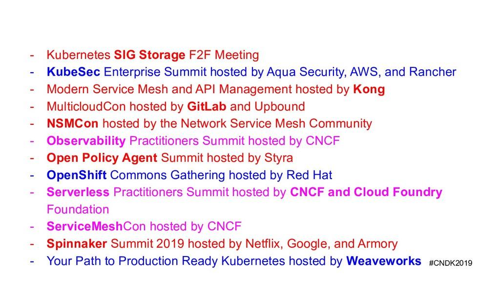 - Kubernetes SIG Storage F2F Meeting - KubeSec ...