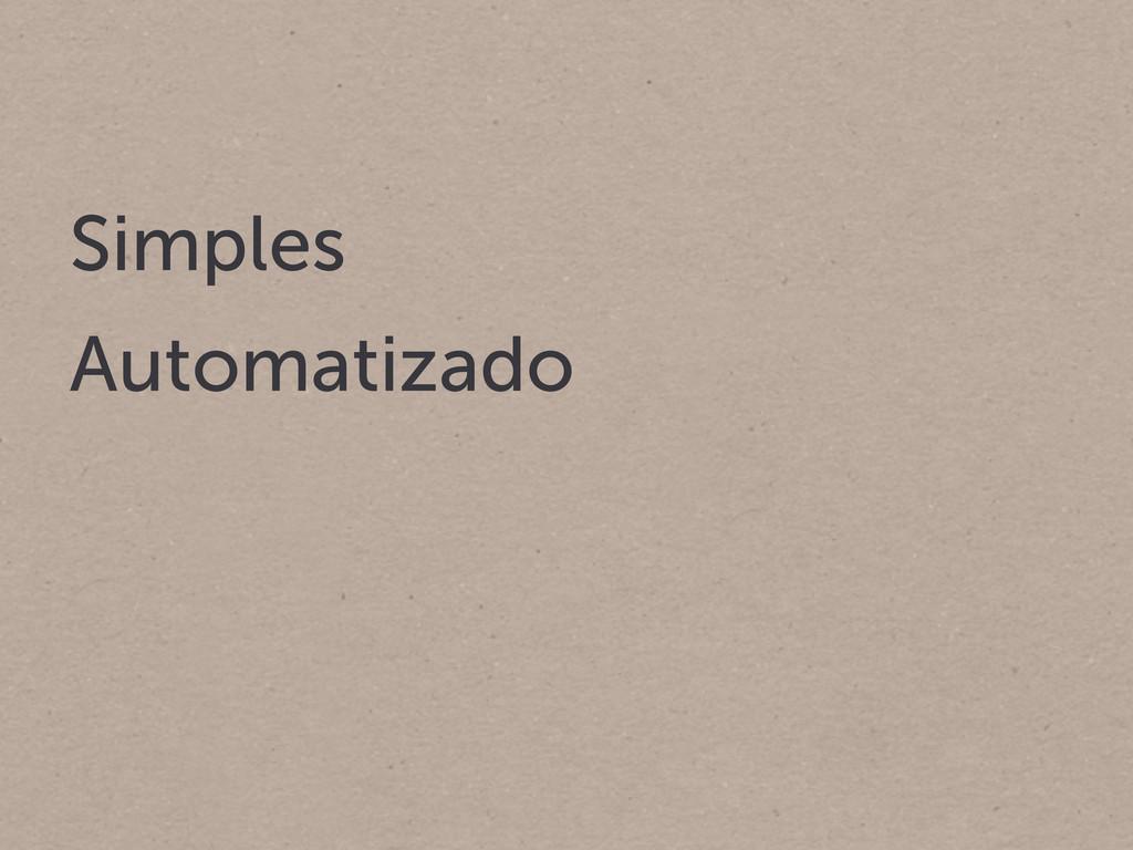 Simples Automatizado