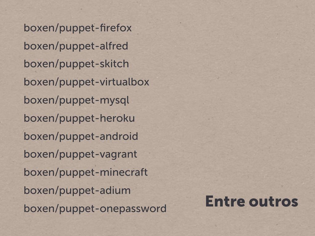 boxen/puppet-firefox boxen/puppet-alfred boxen/p...