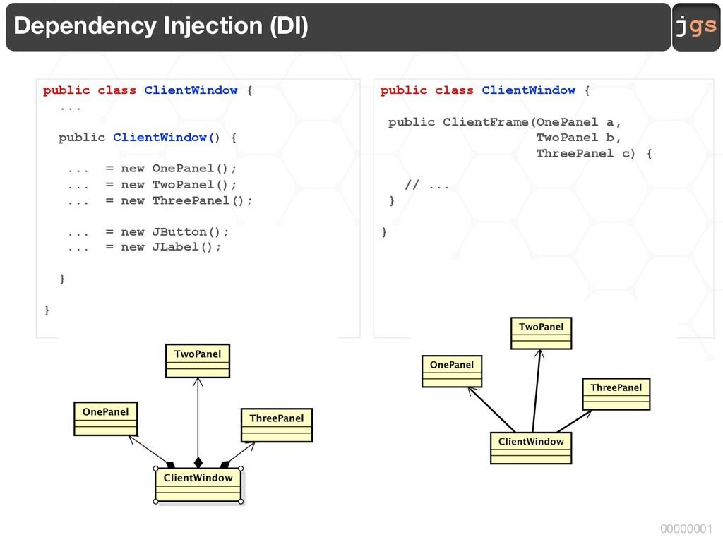 jgs 00000001 Dependency Injection (DI) public c...