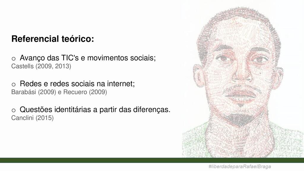 Referencial teórico: o Avanço das TIC's e movim...