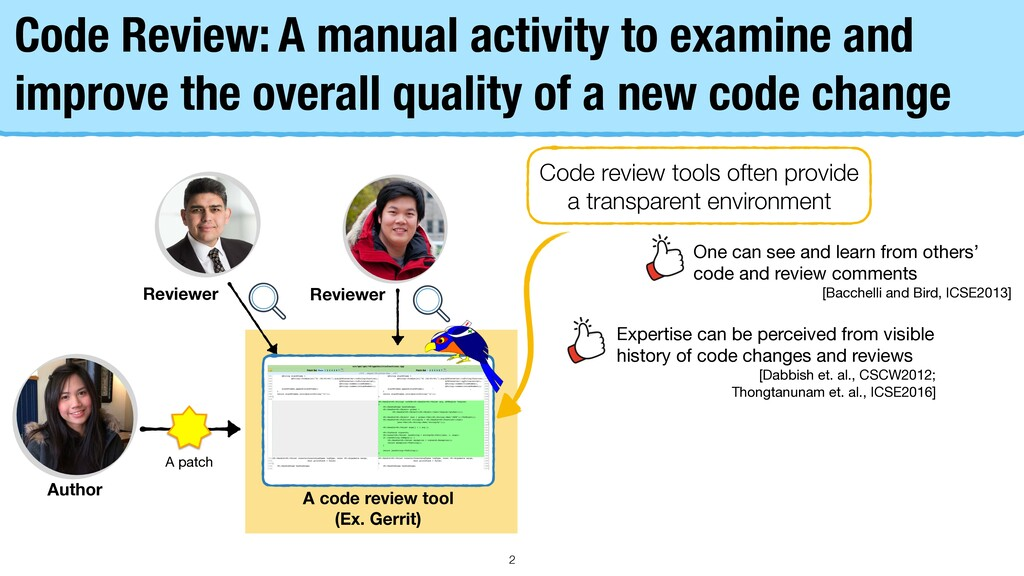 Reviewer Reviewer Code Review: A manual activit...