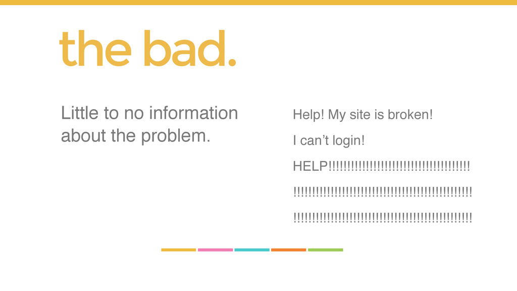 Help! My site is broken! I can't login! HELP!!!...