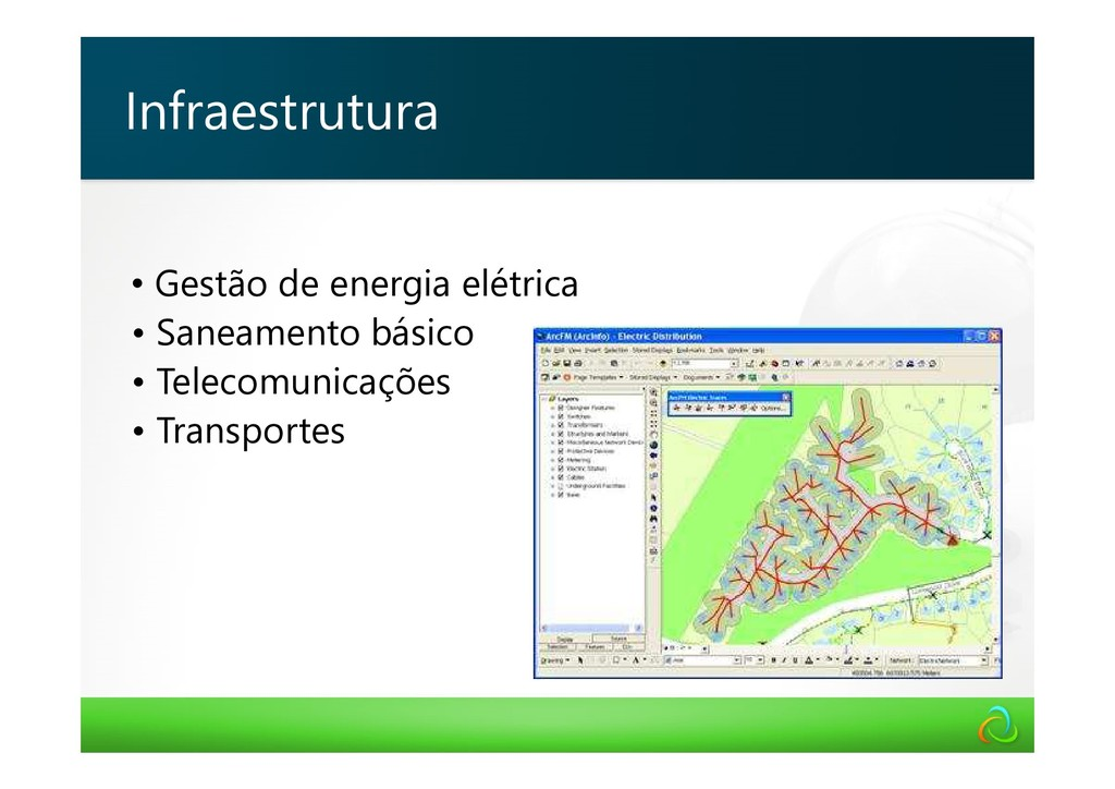 • Gestão de energia elétrica • Saneamento básic...