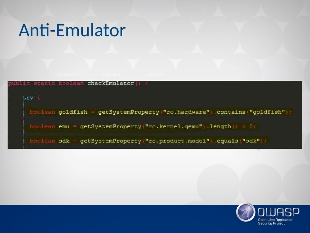 Anti-Emulator