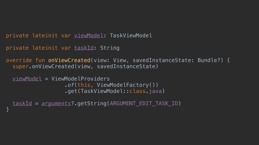 private lateinit var viewModel: TaskViewModel p...