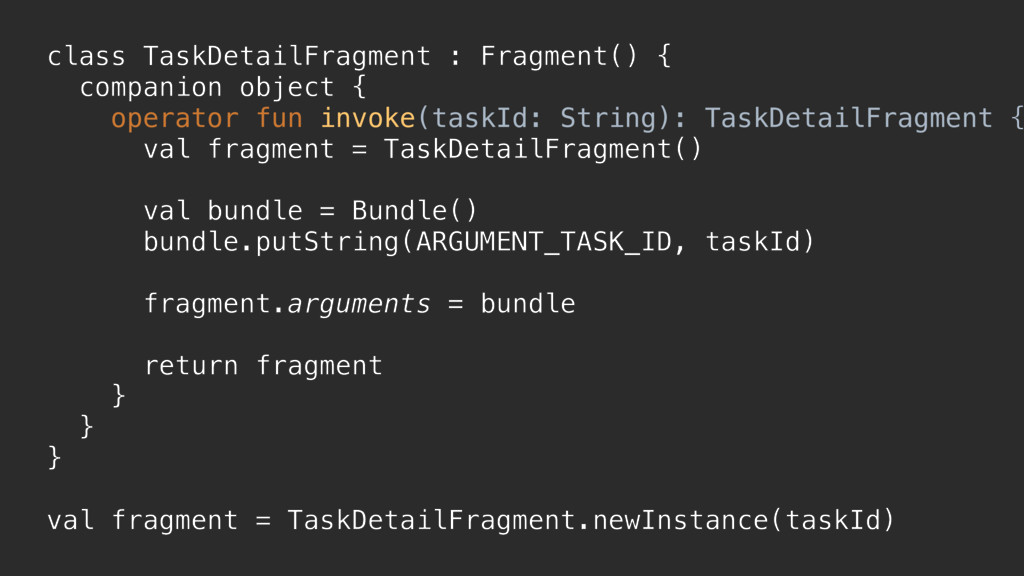 class TaskDetailFragment : Fragment() { compani...