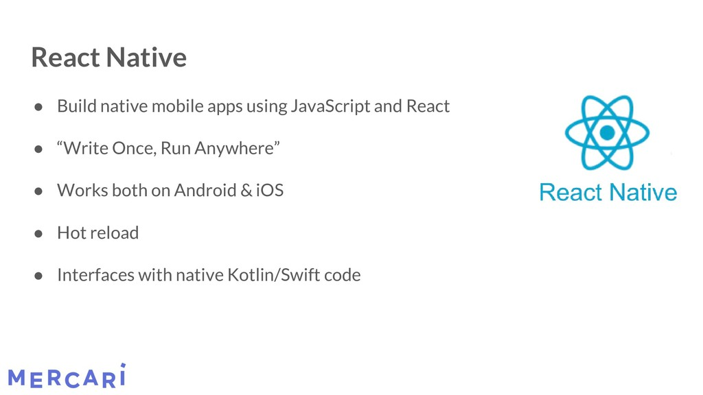 React Native ● Build native mobile apps using J...