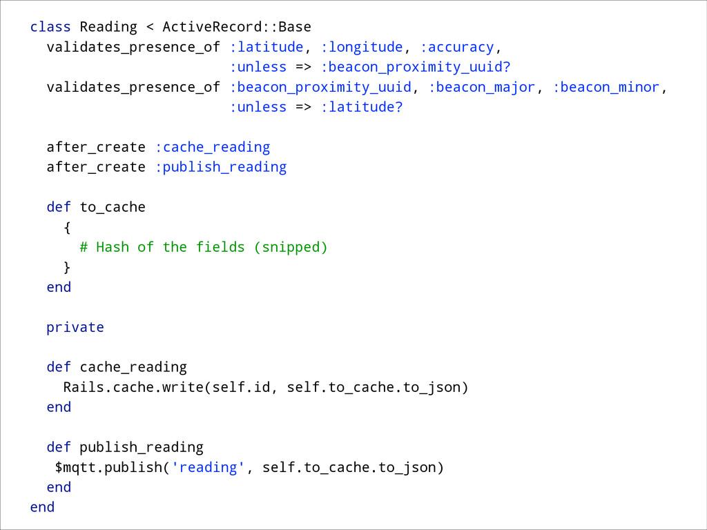 class Reading < ActiveRecord::Base validates_pr...